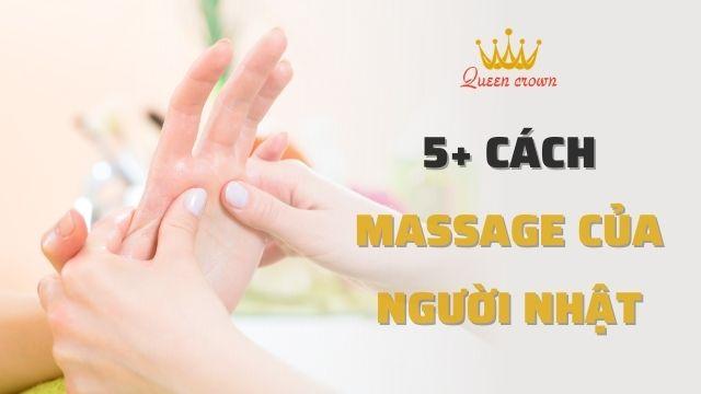 5+ Cách massage của người nhật nâng cao sức khỏe