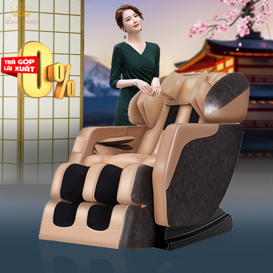 Ghế Massage Queen Crown QC-F5 PRO