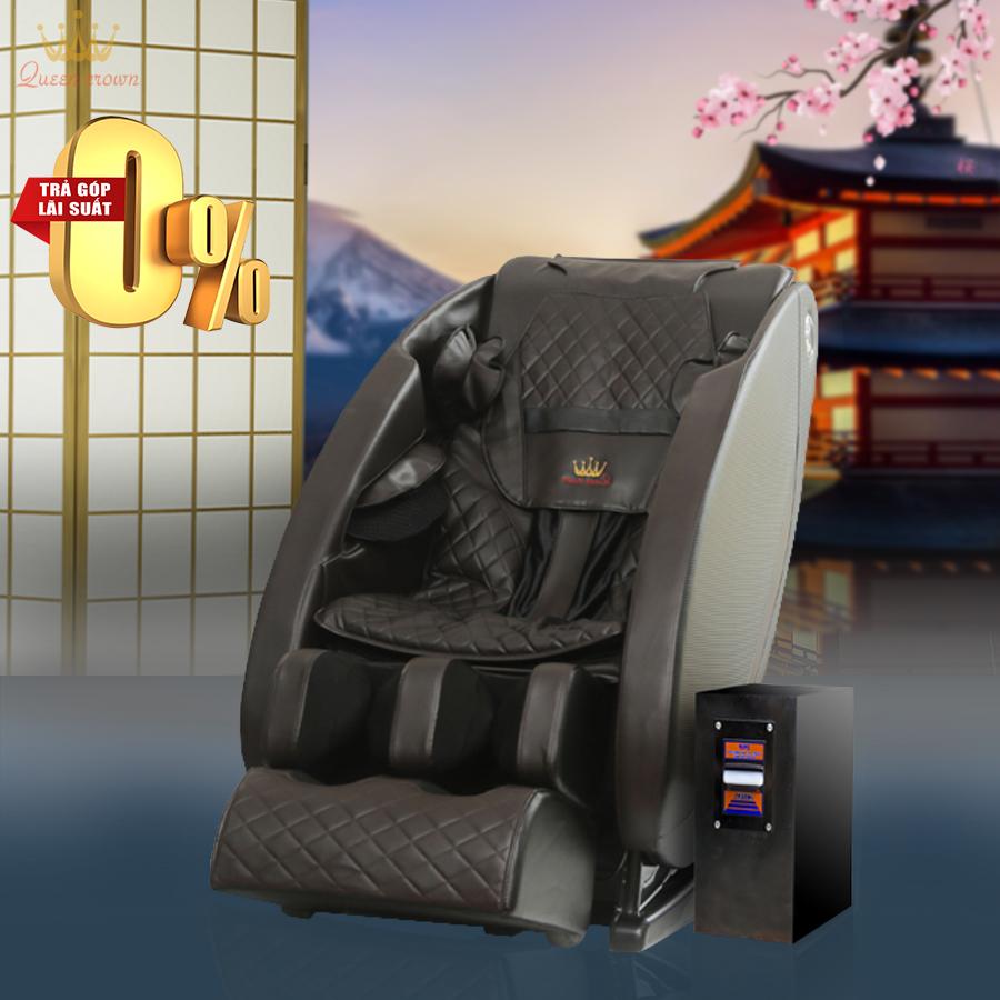Ghế Massage Kinh Doanh Queen Crown QC-Sl7 Plus