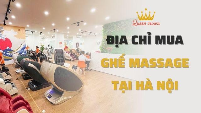 Địa chỉ mua ghế Massage tại Hà Nội