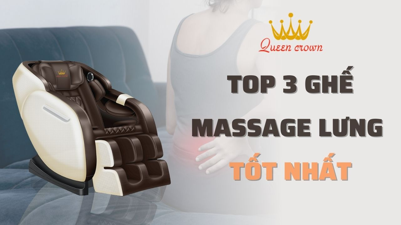 Ghế Massage Trị Đau Lưng Giúp Giảm Đau Nhức Hiệu Quả