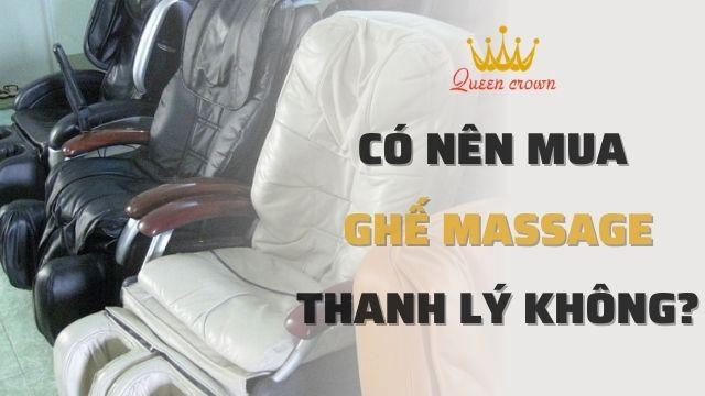 Mua Bán Thanh Lý Ghế Massage Toàn Thân Cũ Giá Rẻ Hà Nội