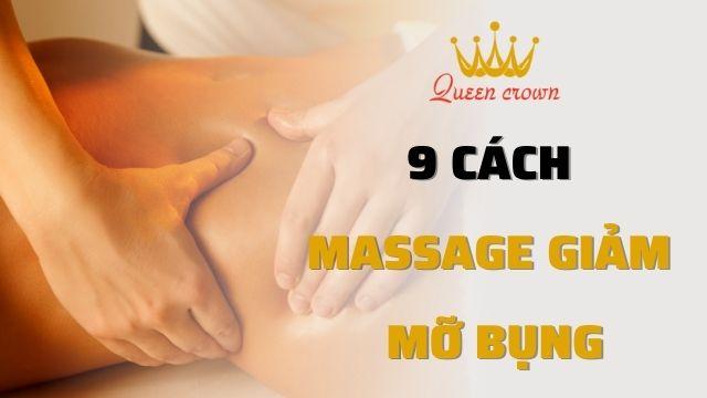 9 Cách massage giảm mỡ bụng đơn giản hiệu quả tại nhà