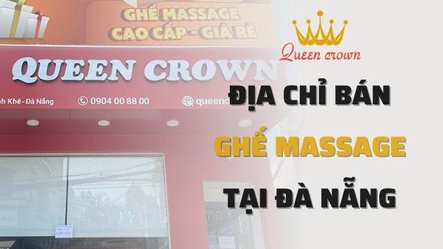 Địa Chỉ Bán Ghế Massage Tại Đà Nẵng Uy Tín, Giá Tốt Nhất