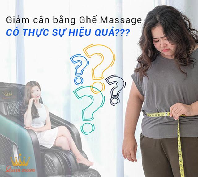 Giải đáp: Giảm cân bằng ghế massage có thực sự hiệu quả?