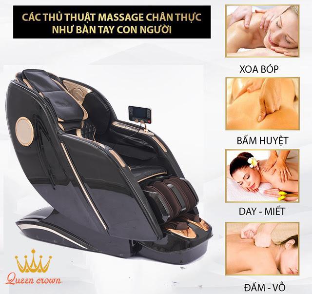 Tổng hợp 12 công nghệ trên ghế massage nổi bật nhất hiện nay