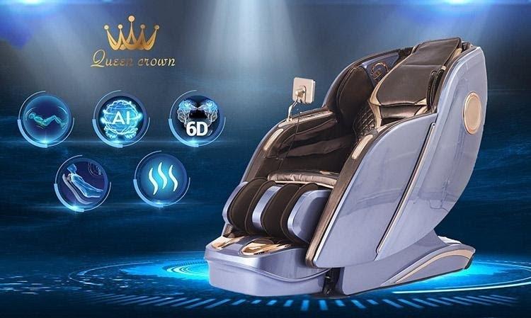 Các dòng ghế massage trên 40 triệu sở hữu những tính năng hiện đại bậc nhất