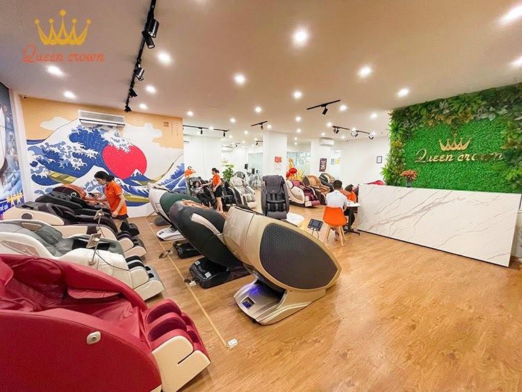 địa chỉ bán ghế massage giá rẻ Hà Nộ