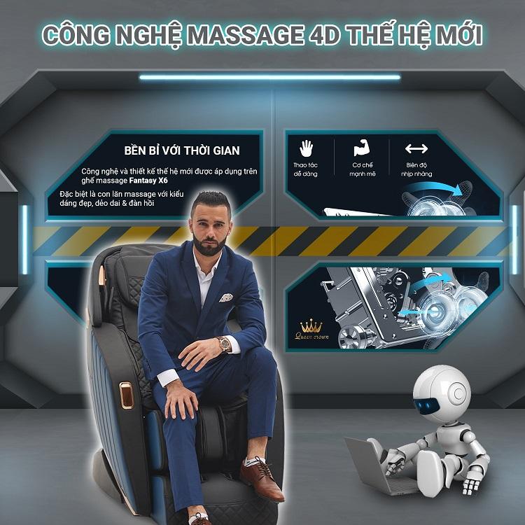 công nghệ massage công nghệ mới