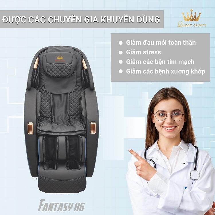 Ion âm được ứng dụng trong sản xuất các dòng ghế massage