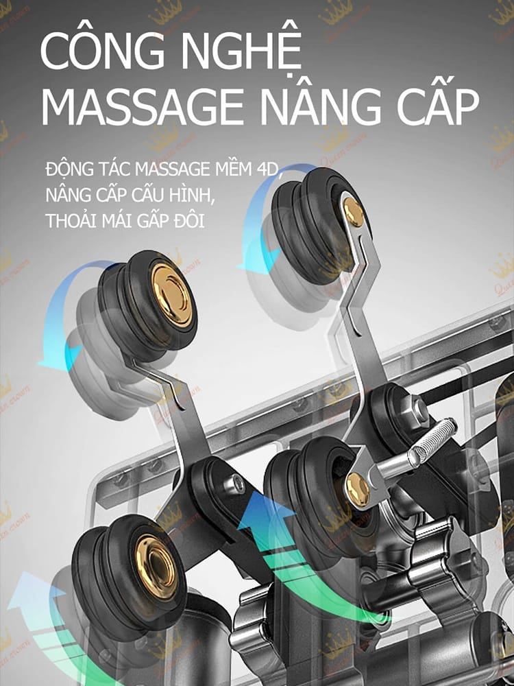 Rô bốt massage Queen Crown QC CX5
