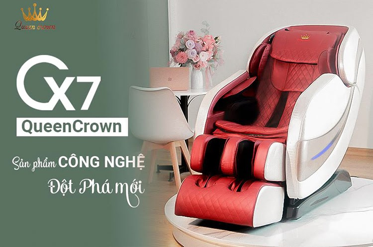 Model Queen Crown QC CX7 là sản phẩm cải tiến công nghệ đột phá