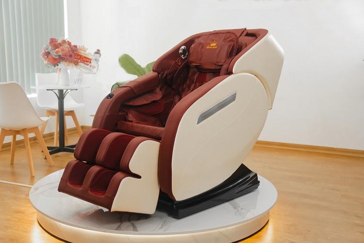 ghế massage Queen Crown QC - L8 thiết kế sang trọng đẳng cấp