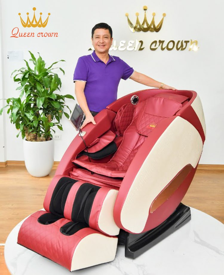 Thiết kế của ghế massage Queen Crown QC SL666