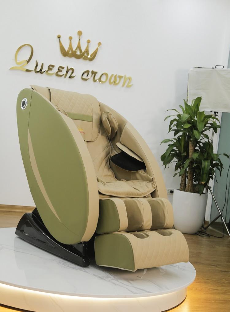 Ghế massage Queen Crown QC SL7 Plus sở hữu ngoại hình đẹp