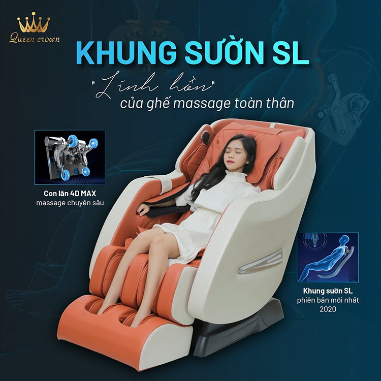 Queen Crown QC SL8 Pro trang bị khung sườn SL thế hệ mới