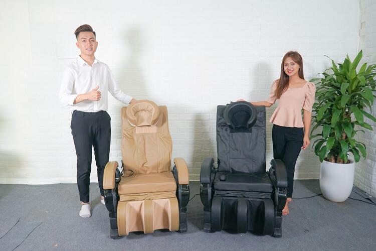 Đặc điểm thiết kế ghế Massage Queen Crown QC T1